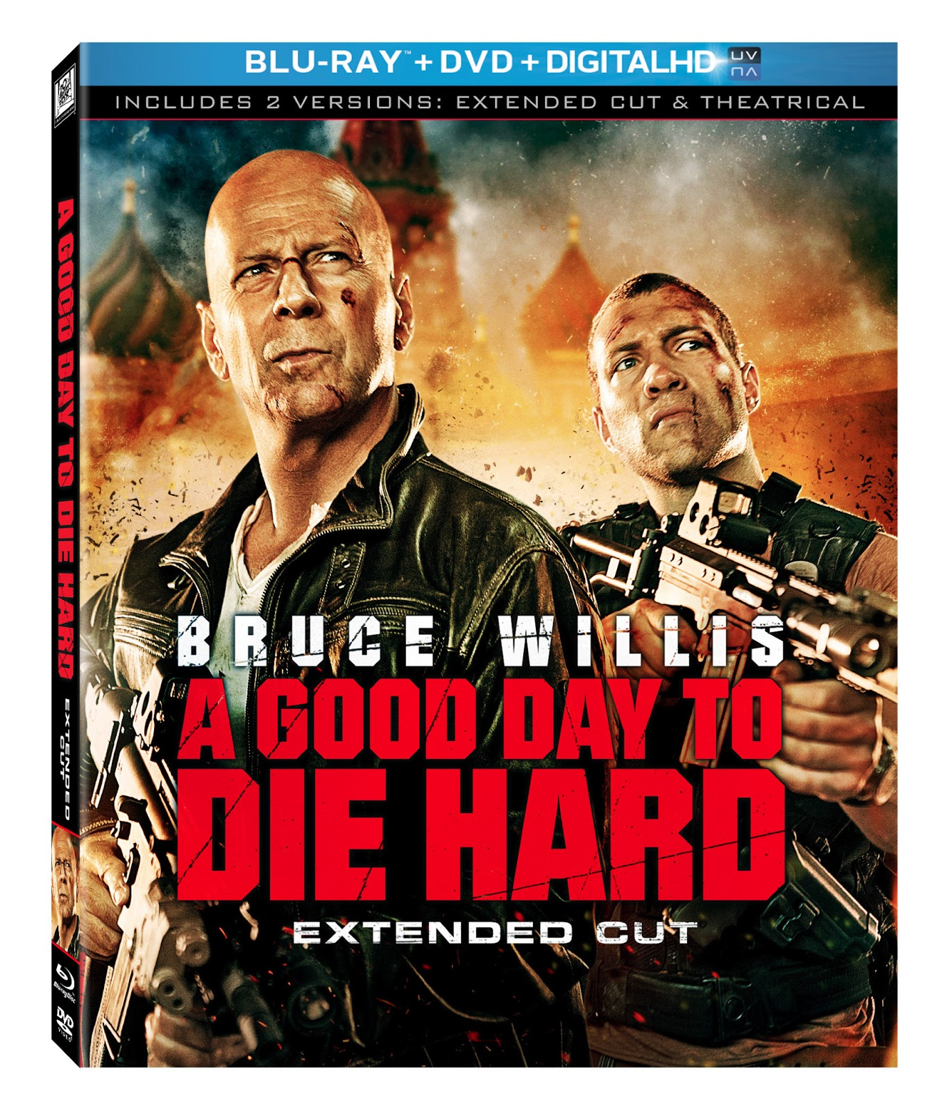 A Good Day To Die Hard  Disc Bd Ultraviolet Dvd Dc Disc  Blu Ray