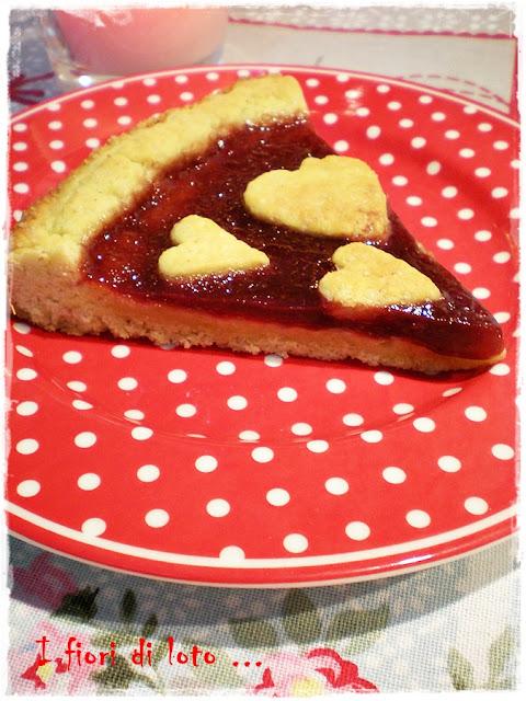 per san valentino.. crostata rustica con olio di oliva