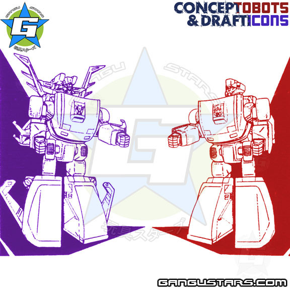 Transformers Double Spy Punch CounterPunch prototypes トランスフォーマー ダブルスパイ タカラ hasbro