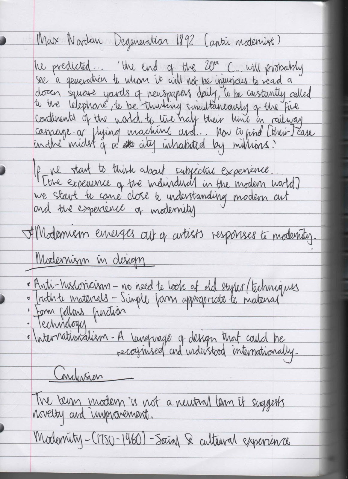 lecture notes on modernism and other Lecture 18 american modernism and imagism - lecture eighteen american modernism and imagism 1 pound's free verse translation, working from the notes of ernest.
