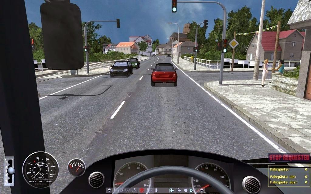 تحميل لعبة قيادة الباصات Download European Bus simulator 2012