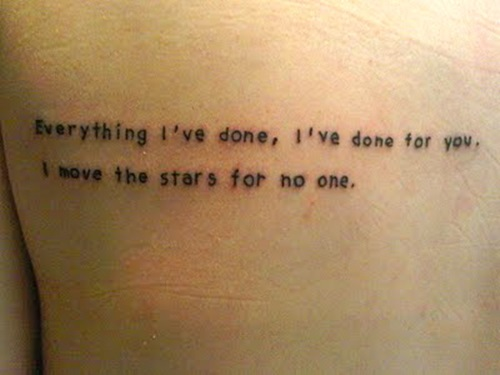 Polka Spots and Freckle Dots: Tattoo Inspiration: Labyrinth Labyrinth Movie Quotes Tattoos