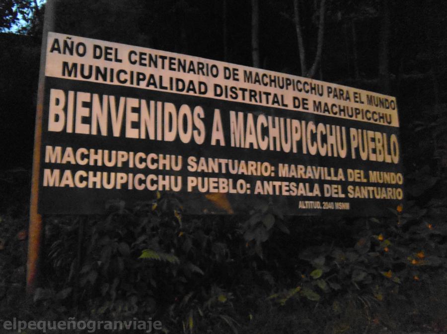 Río Urubamba Aguas Caliente Machu picchu