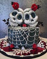 calaveras torta
