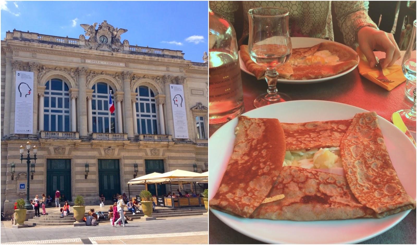 Place de la Comédie Le Patacrêpe Montpellier