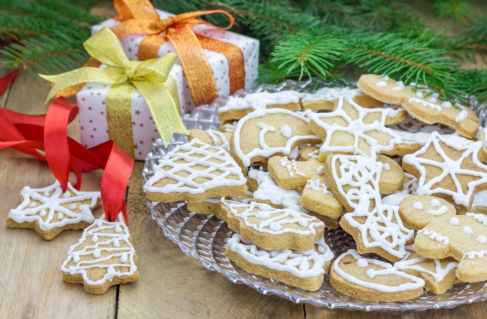 Песочное новогоднее печенье рецепт