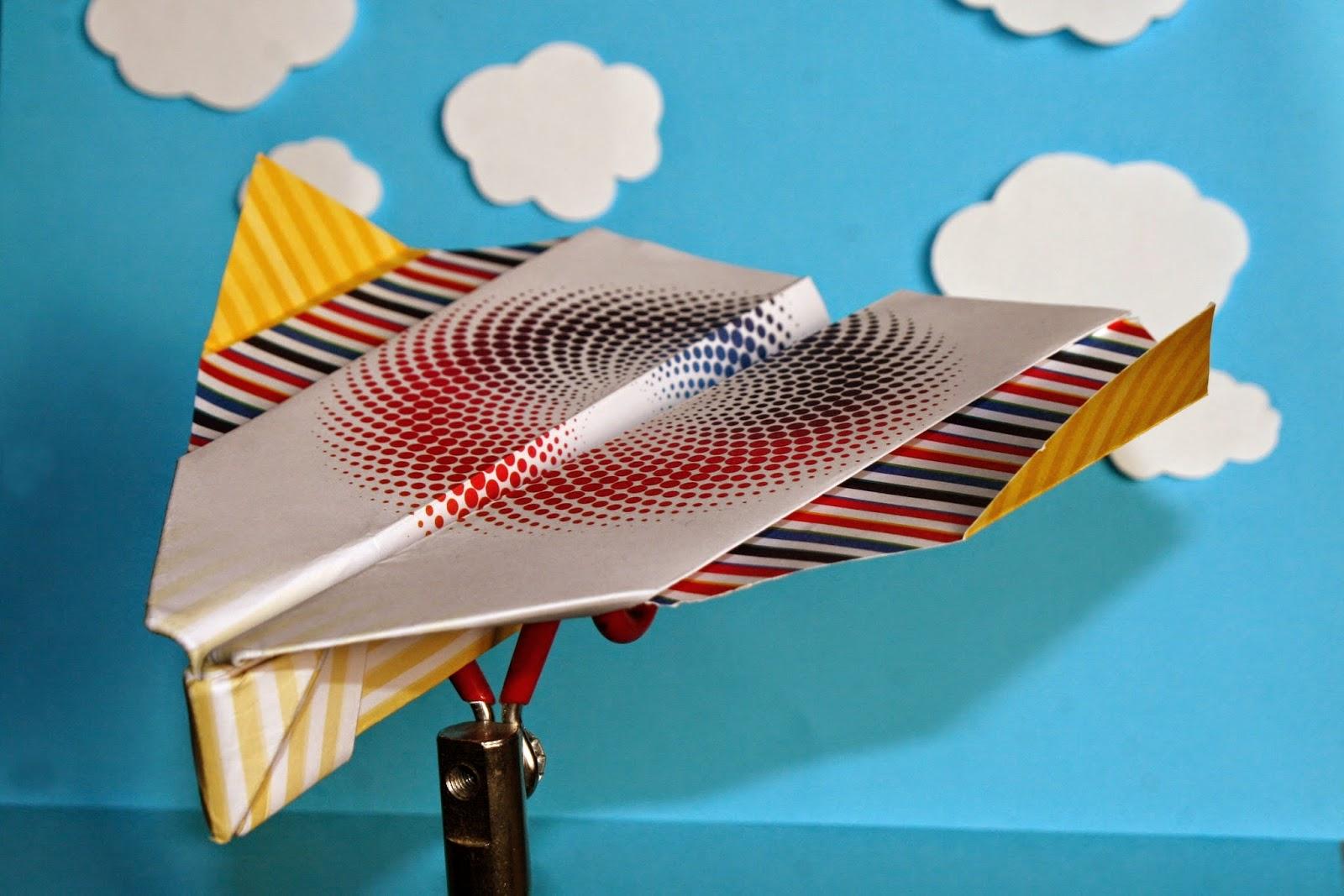 Как сделать самолётик из бумаги который летает 1000 метров