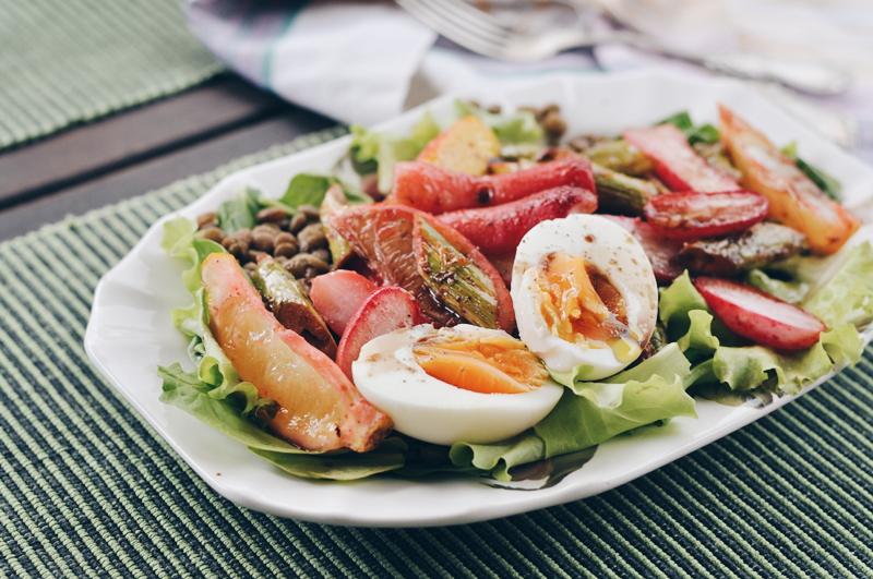 pavasara salāti // spring salad