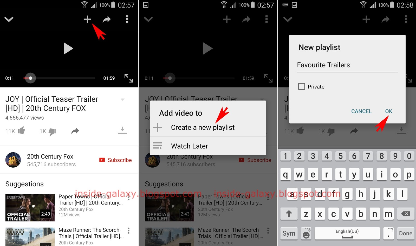How To Create A New Playlist In Youtube App? You Can Do So By Using  3camscanner Phone Pdf Creator