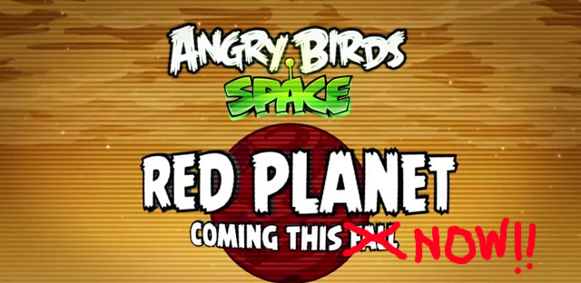 Angry Birds Space Red Planet