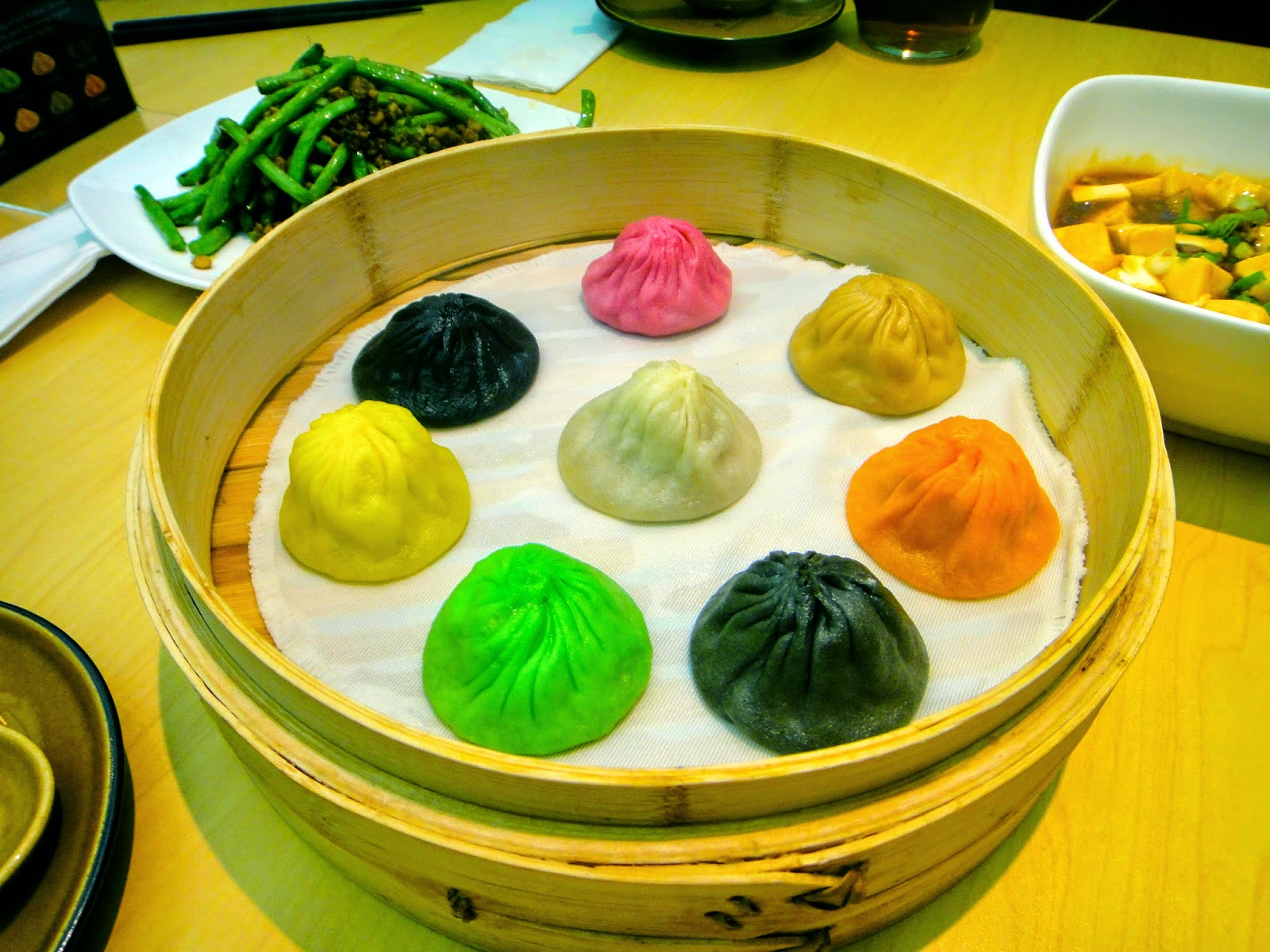 Colorful Xiao Long Bao Paradise Dynasty Central Park