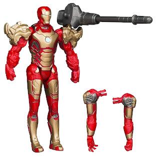 "Hasbro Iron Man 3 ""Assemblers"" Iron Man figure"
