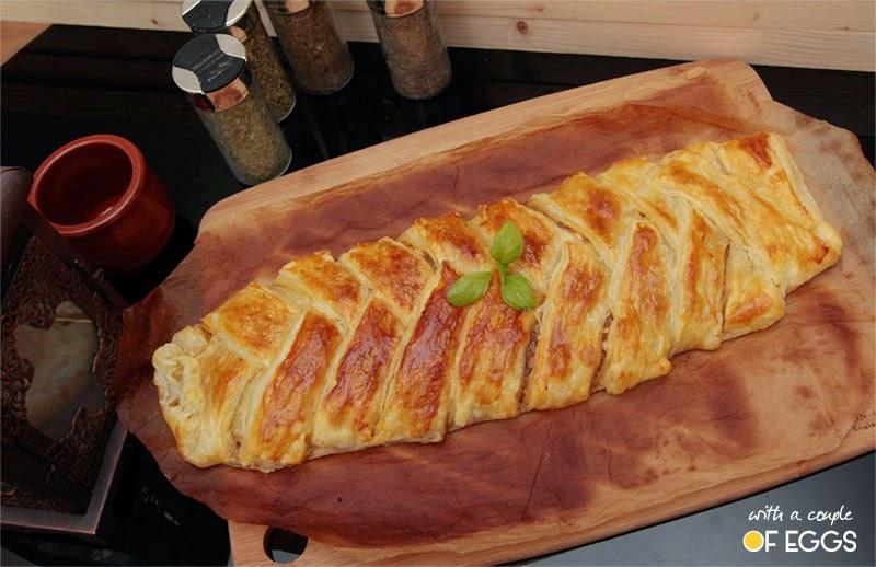 receta empanada hojaldre