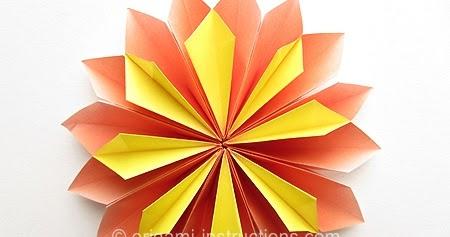 Origami Yamaguchi Dahlia