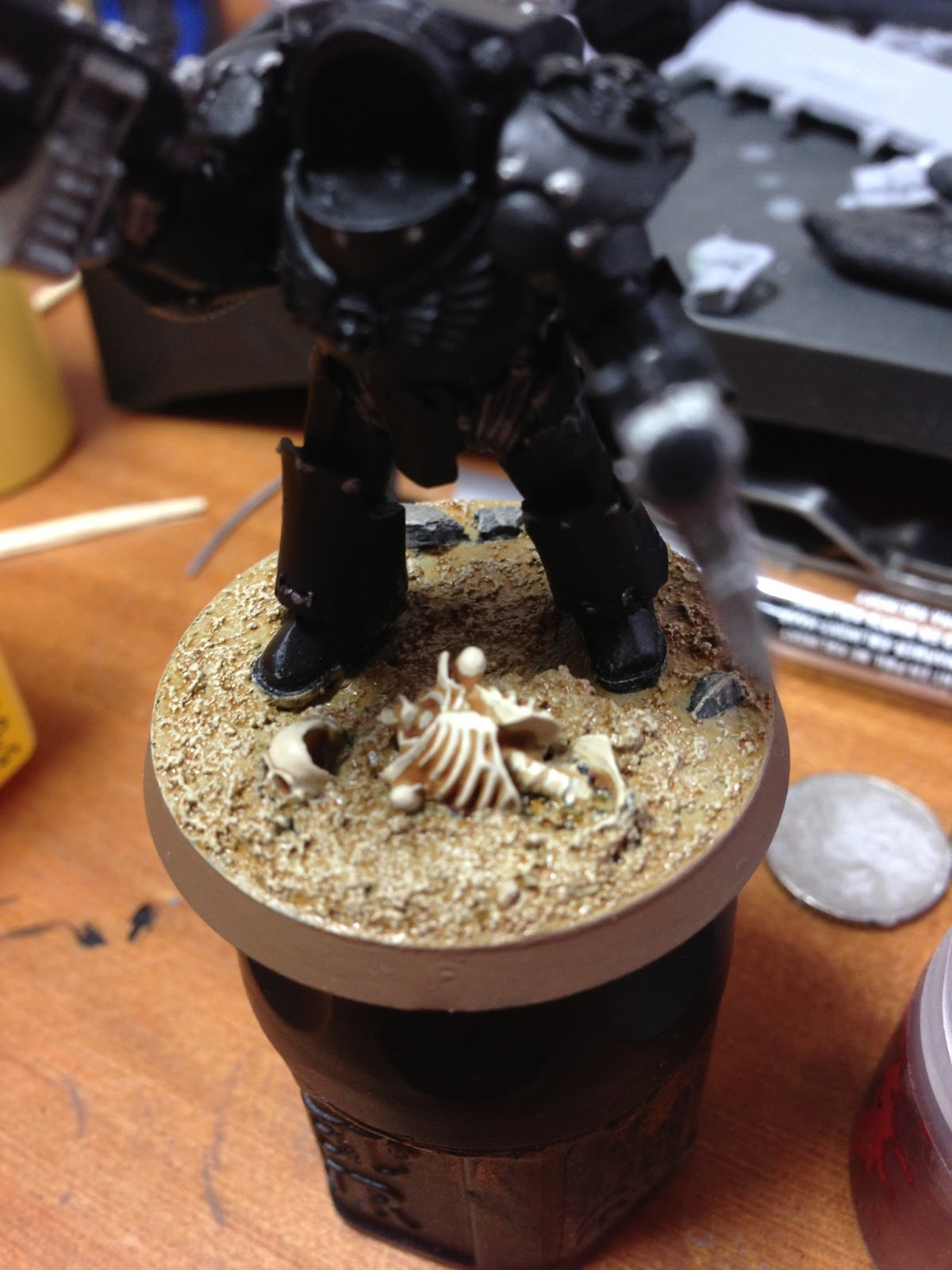THE EMPERORS WRATH BASING WITH THE BADLANDS KIT PART TWO