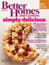 My Pie gets Better Homes &amp; Gardens Cover Love