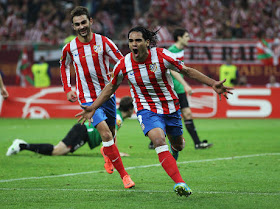 atletico madrid jawara liga eropa 2012