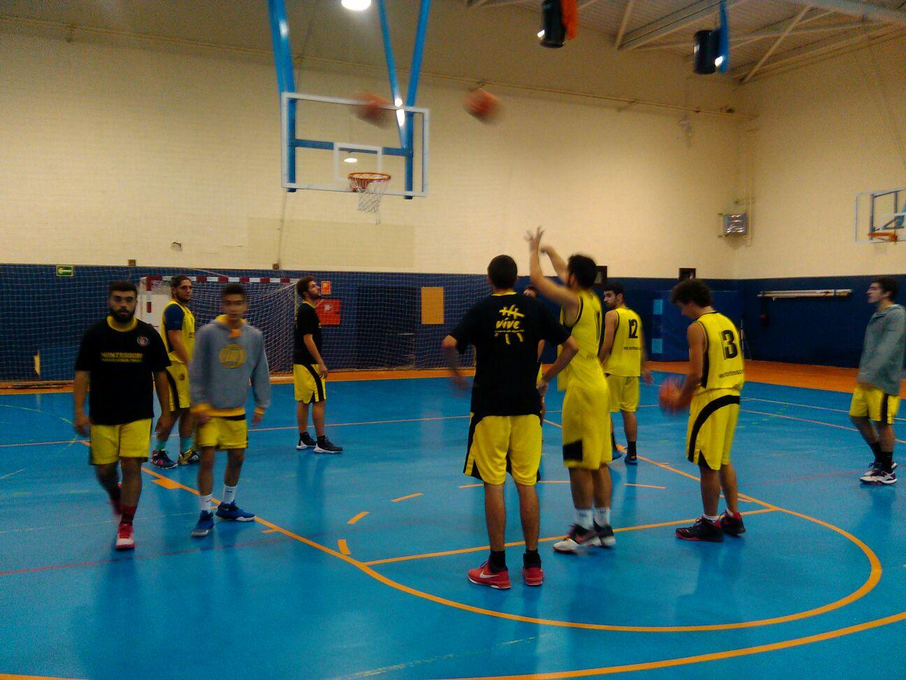 Baloncesto montessori sub21 masculino 15 10 2016 - Parque conde orgaz ...