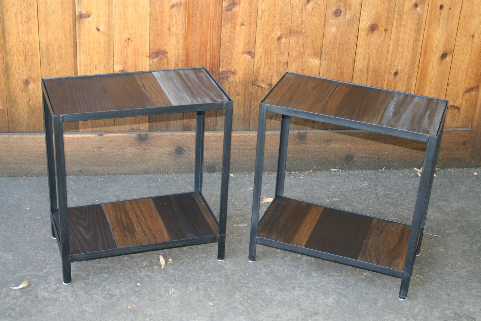 Real Industrial Edge Furniture Llc Industrial End Table