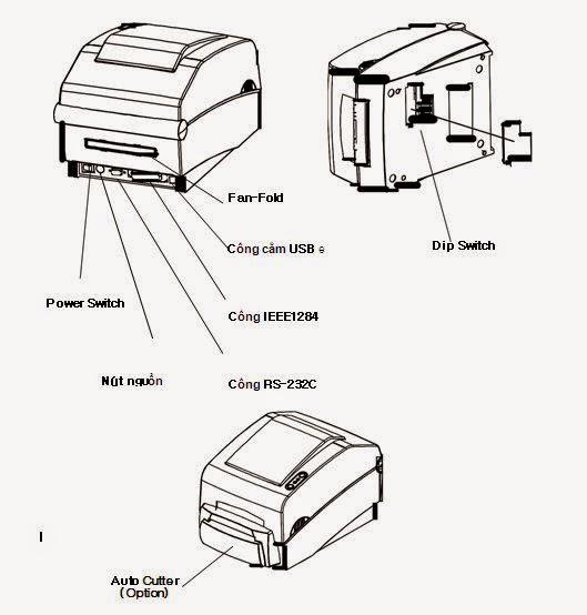 máy in mã vạch bixolon slp-t400/t403