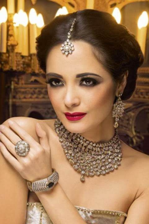 Nargis bridal jewellery collection