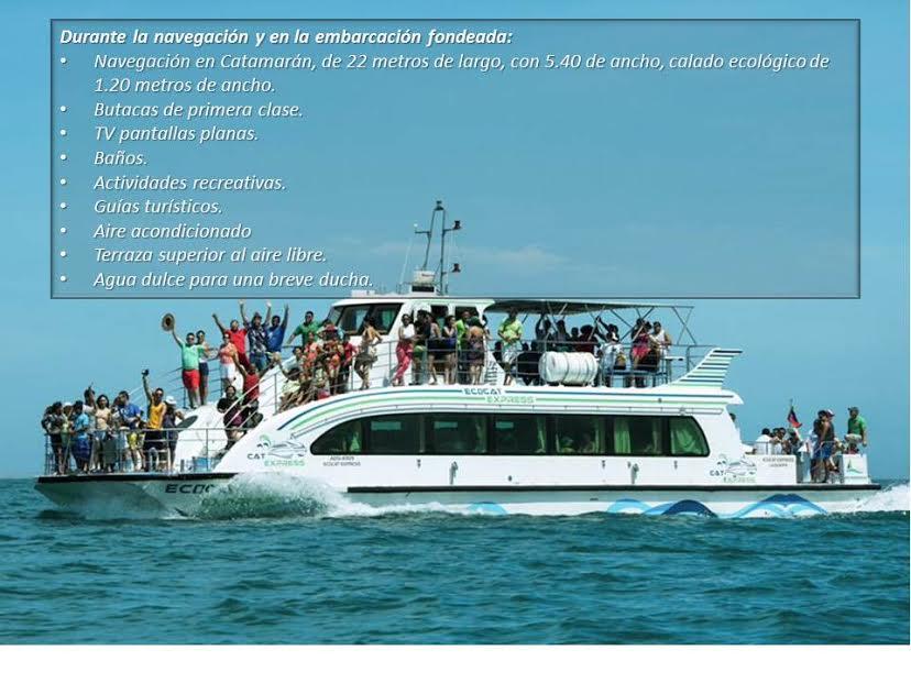 La Tortuga en Catamaran VIP