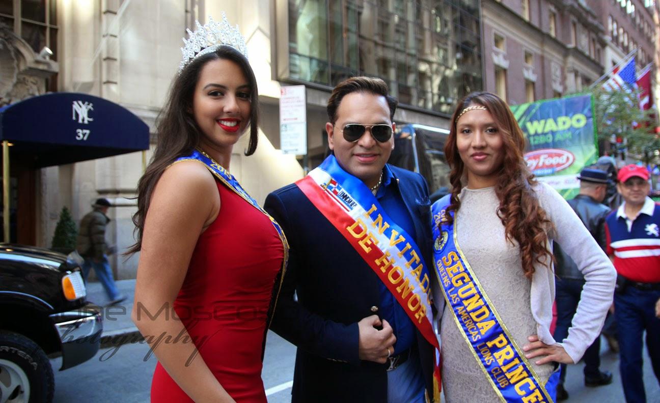 Desfile de la hispanidad de Manhattan, Nueva York 2014 - invitado de honor