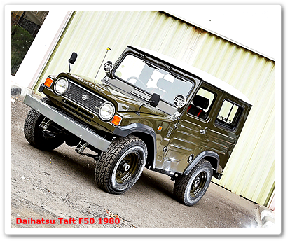 Mobil Jip Modifikasi - Restorasi Daihatsu Taft F50 1980