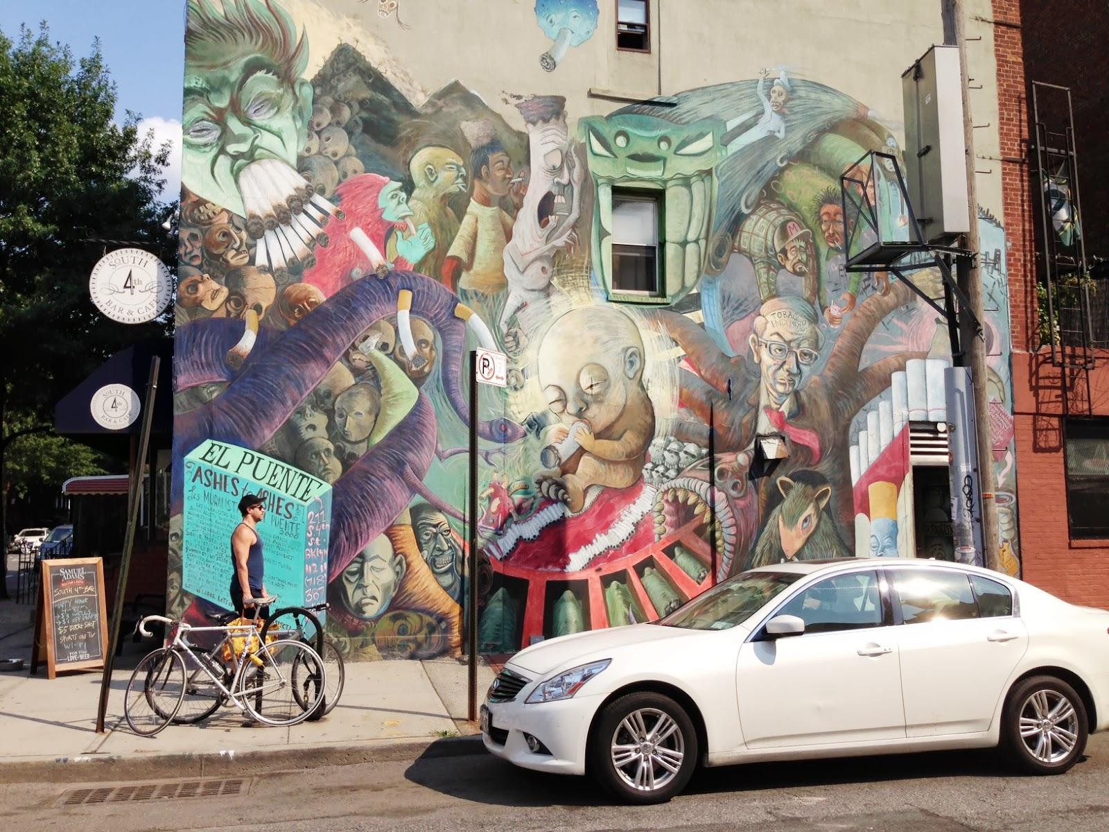 Street Art tour Williamsburg Brooklyn