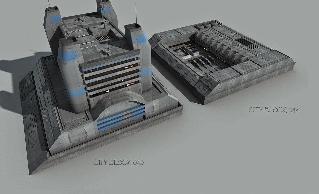 Greeble Ville blocs 3
