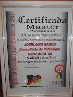 PRÊMIO MASTER ESTADUAL -2012