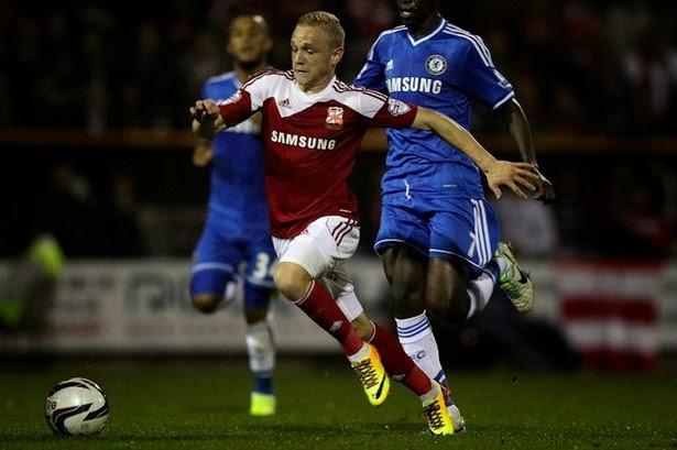 Alex Pritchard Championship loan?