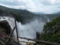 athirapally waterfall kerala