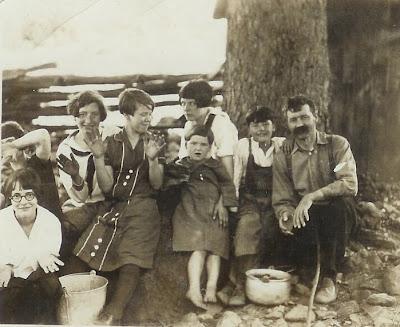 Bernard Henry Shiflett family