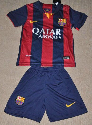 Jersey GO Home Barca Official 2014 - 2015