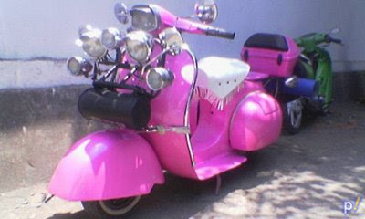 Wallpaper Motor skuter Vespa Lama