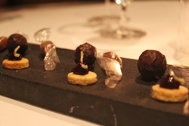 Caramels, cookie dough truffles, and little cakes at Menton