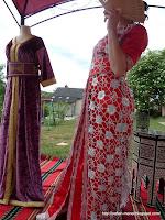 takchita haute couture Rouge du maroc