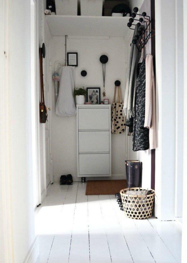 Decoraci n f cil como decorar un recibidor muy peque o de - Como decorar un recibidor ...