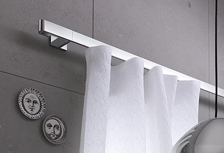 Flat Curtain Rod Rooms