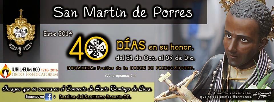 San Martin de Porres 2014