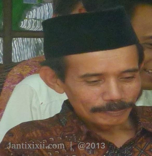Muh Basri sebagai dukuh terpilih Janti Lor XI