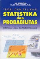 toko buku rahma: buku TEORI DAN APLIKASI STATISTIKA DAN PROBABILITAS, pengarang boediono dan wayan koster, pengarang rosda