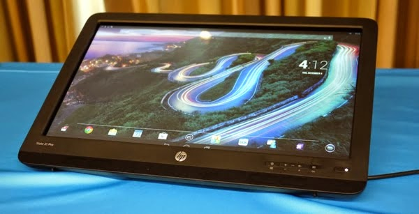 HP Slate 21 Pro можно использовать как планшет