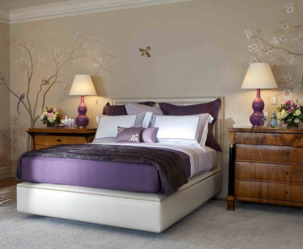 Bedroom Ideas Purple And Grey purple and gray bedroom ideas - home design jobs