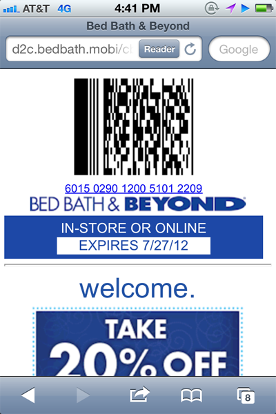Bed bath and beyond coupon 2018 in store