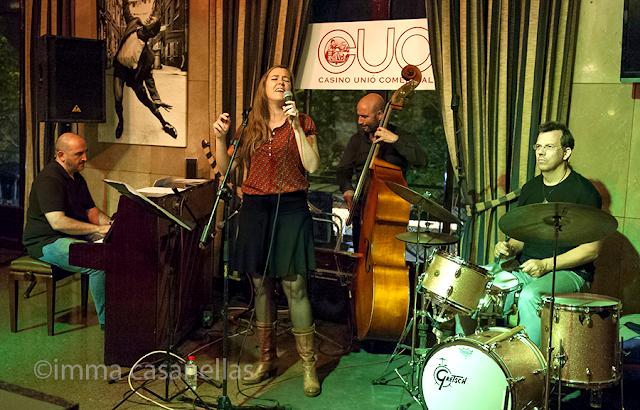 Tui Higgins & Xavier Monge Jazz Project (Sam-Cafè, Vilafranca del Penedès, 13-6-2015)