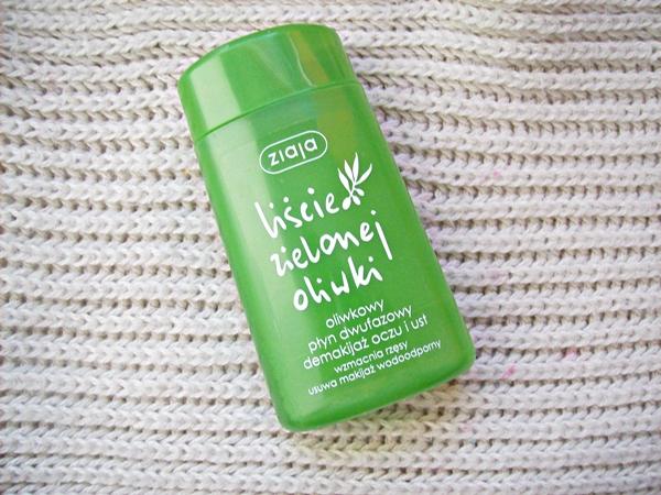 Oliwkowy płyn dwufazowy Ziaja, Liście Zielonej Oliwki