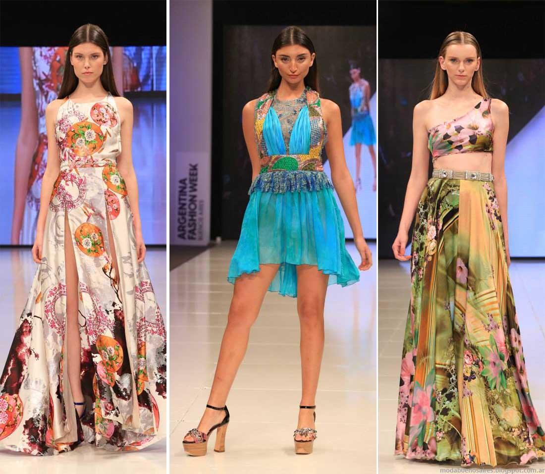 Vestidos 2015 Benito Fernandez colección de vestidos de alta costura. Moda Argentina 2015.