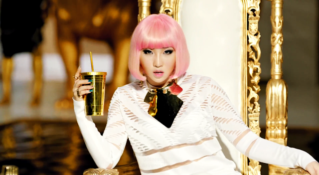 minzy 2ne1 falling in love mv